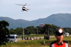 Cuatro nuevos niños rescatados de la cueva de Tailandia