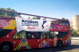 La campaña de Arran contra el turismo de masas llega a Palma