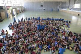 Laia Palau visita el Campus Rudy Fernández