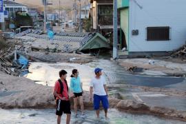 El número de muertos por las lluvias torrenciales en Japón asciende a 141
