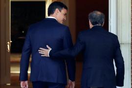 Torra a Sánchez tras recurrir en el Constitucional la moción del 9N: «Empezamos mal, presidente»