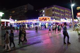 La policía interpone 50 denuncias por ruido en Magaluf y Santa Ponça