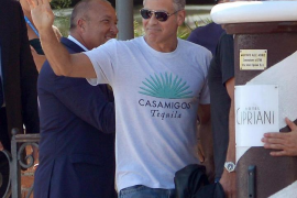 George Clooney, herido en un accidente de moto