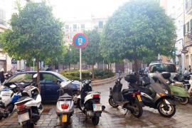 El Ayuntamiento de Palma peatonaliza la plaza del Banc de s'Oli