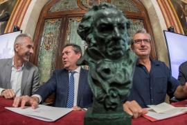 Miguel Ángel Vázquez, Juan Espadas y Mariano Barroso