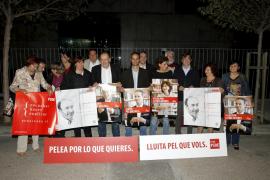 PALMA LOCAL INICIO DE CAMPAÑA DEL PSOE FOTO MIQUEL A.