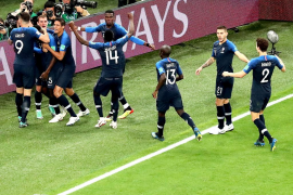 Francia derrota a Bélgica y es finalista del Mundial