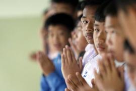 Los rescatados de la cueva en Tailandia han perdido peso pero su salud no está en riesgo