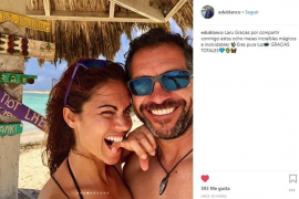 Lara Álvarez y su novio Edu Blanco, sus fotos más íntimas y cariñosas