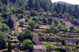 El Consell impulsa la restauración de los molinos de la finca Galatzó