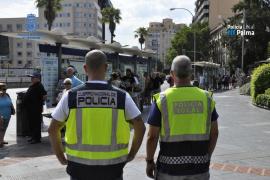 Trabajo conjunto entre la Policía Nacional y la Policía Local contra los hurtos