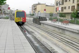 El tren eléctrico hasta sa Pobla empezará a funcionar en pruebas el próximo agosto