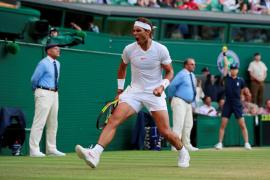 Nadal acanza las semifinales de Wimbledon tras un épico triunfo ante Del Potro