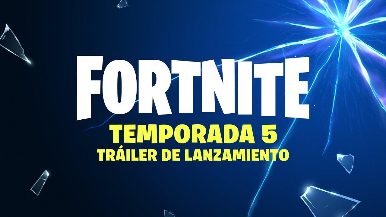 La temporada 5 de Fortnite llega cargada de novedades