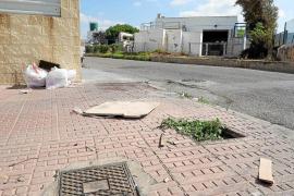 Los empresarios del polígono Eurocentro se quejan por el estado de «abandono» de la zona
