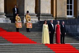 Trump llega al Reino Unido rodeado de un clima de hostilidad