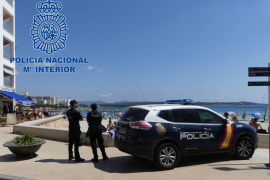 Detenido el autor de un delito de abuso sexual en la playa de S'illot