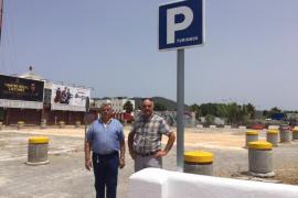 Sant Antoni abre un nuevo aparcamiento disuasorio en la avenida Doctor Fleming