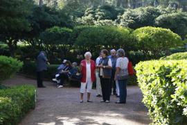 Los jardines de Marivent cierran por vacaciones