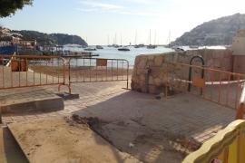 La playa del Port de Andratx lleva seis días cerrada por vertidos y sin fecha concreta de reapertura
