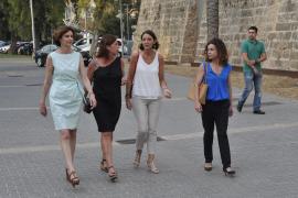 La ministra de Turismo llega a Palma