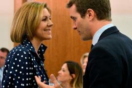Cospedal apoya a Casado como una «magnífica opción» para presidir el PP