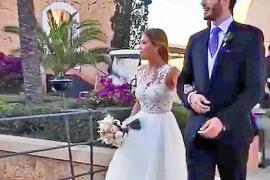 La boda de película entre el jugador Álex Abrines y Carla García