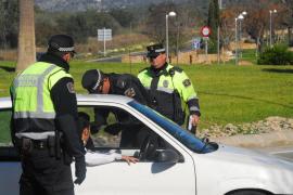 La Policía Local de Calvià busca a un conductor que atropelló a un peatón y se dio a la fuga