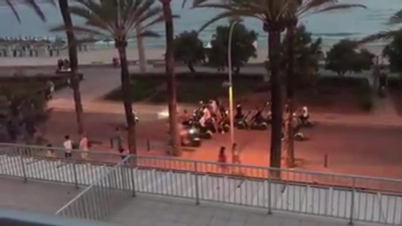 Inseguridad y molestias en las zonas turísticas por el uso descontrolado de motos eléctricas
