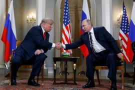 Trump y Putin califican su encuentro de «un buen comienzo»