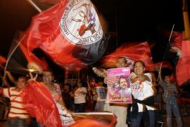 Managua se tiñe de rojo y negro en el festejo por el triunfo de   Ortega