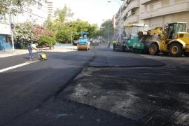 Cort inicia la mejora del asfalto de la calle Pasqual Ribot