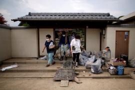 Las lluvias en Japón causan 224 fallecidos y 17 desaparecidos