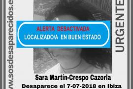 Localizada en «buen estado» la joven de 35 años desaparecida hace una semana en Ibiza