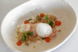 Cigalas y Avoe del chef Ricardo Rossi