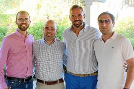 Jaume García, Víctor Jiménez, Antoni Mir y Aleksandre Taturashvili.