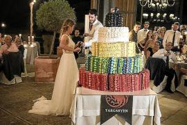 La tarta más dulce, en la boda de Álex Abrines y Carla García