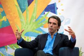Aznar, tras no ser invitado al congreso: «Solo he sido presidente del PP 14 años y 8 del Gobierno»