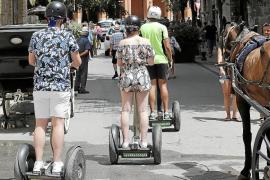 Cort limita las calles de Palma que podrán usar los vehículos de movilidad personal