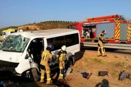 Un fallecido y seis heridos, cuatro de ellos menores, en un accidente en Zaragoza