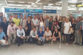 La delegación balear del PP viaja rumbo al congreso del partido en Madrid