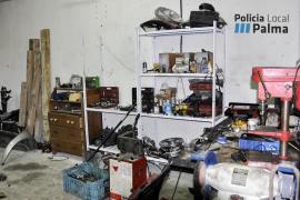 Tres talleres ilegales denunciados por la Policía Local de Palma
