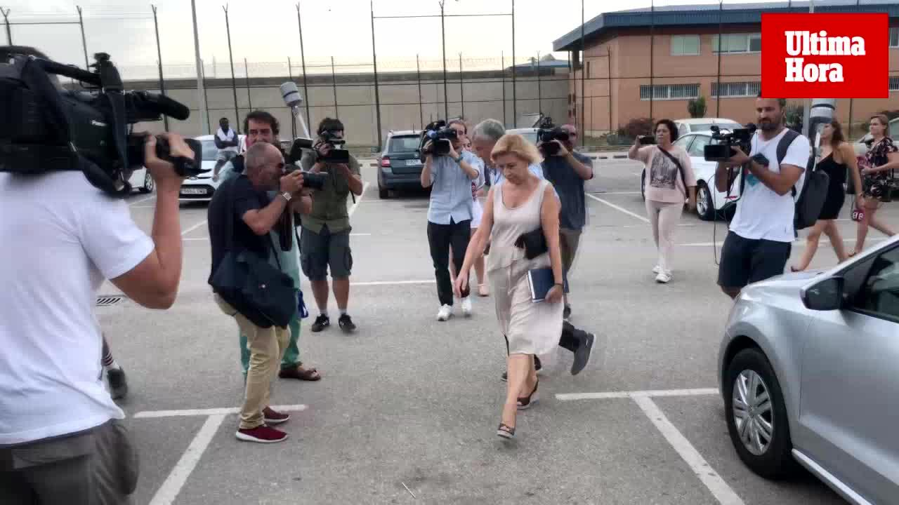 Maria Antònia Munar sale de la cárcel en su primer permiso penitenciario