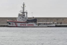El Open Arms llega a Palma