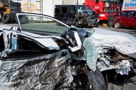 Cuatro muertos y dos heridos graves en un accidente en Girona