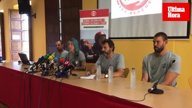 Open Arms presenta en Palma una denuncia contra Libia e Italia por homicidio imprudente