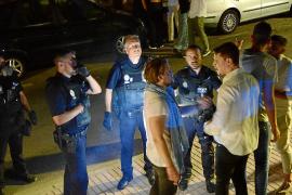 Al menos dos heridos en una pelea multitudinaria en el Port d'Andratx