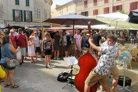 El mercado de Sineu acusa una bajada de ventas pese a la abundancia de turistas