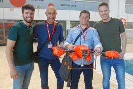 La Platja de Muro utiliza drones para rescatar a bañistas en apuros