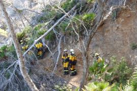 Controlado el incendio de Cala Estellencs, que ha quemado 5,2 hectáreas